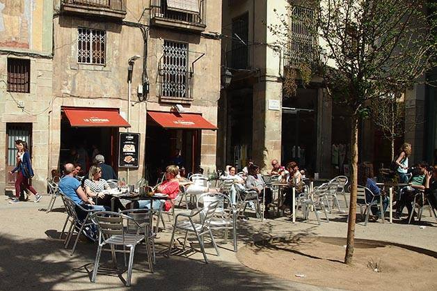sunny terraces campana dels flassaders