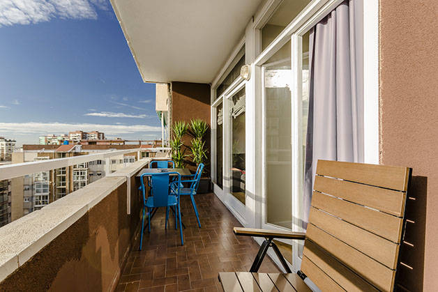 renting an apartment in Barcelona terrace