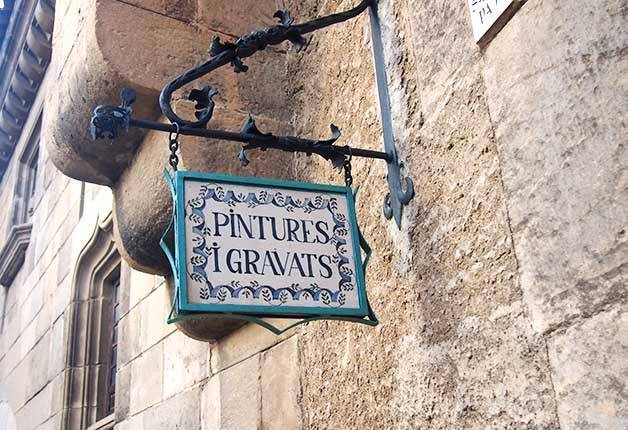 poble espanyol: painting and engraving