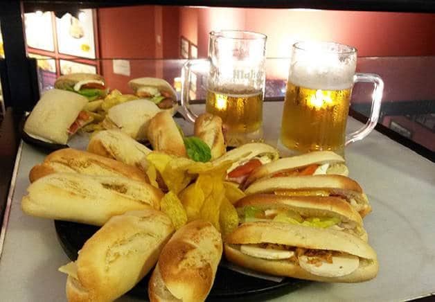 100 montaditos places to eat for under 5 euros
