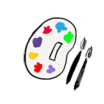 drawing paint pallet