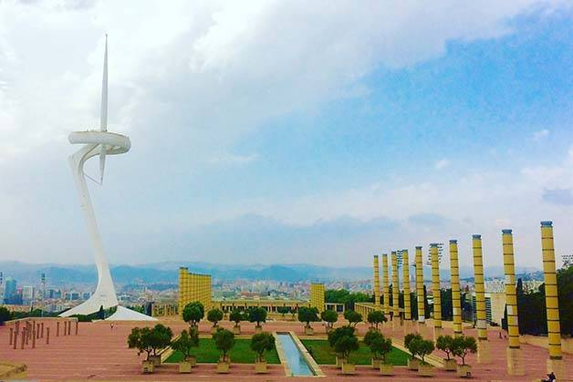 montjuic communications tower