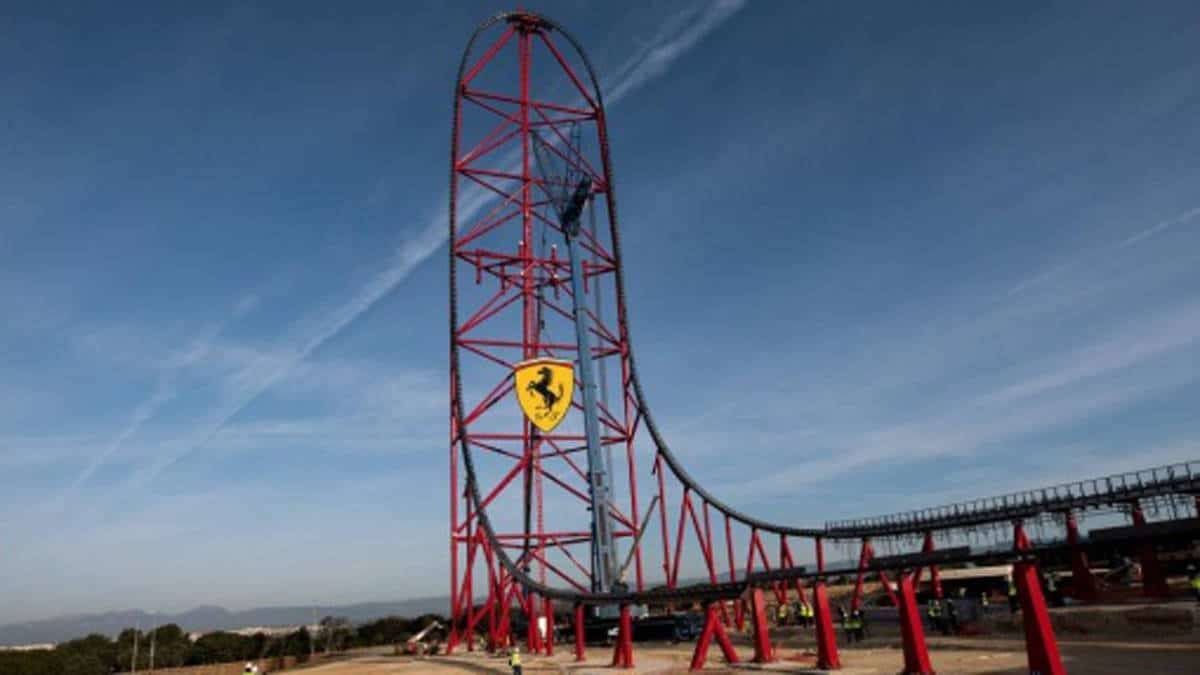 La Parking Tickets >> Ferrari Land: a fast and furious new experience from Port ...