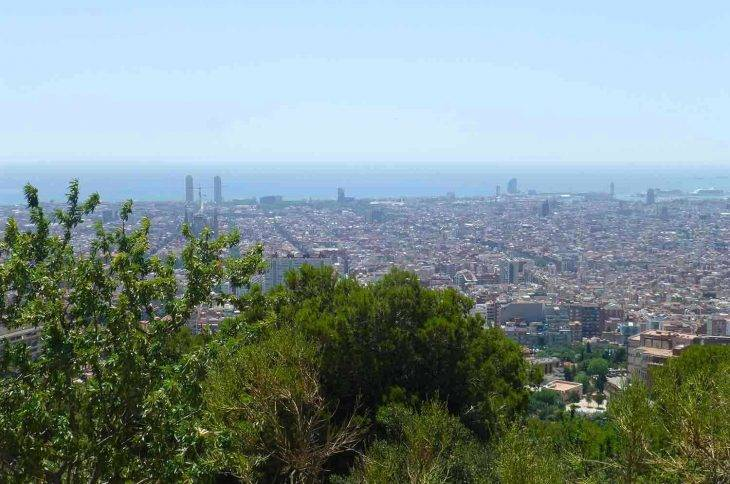 Barcelona in a group view