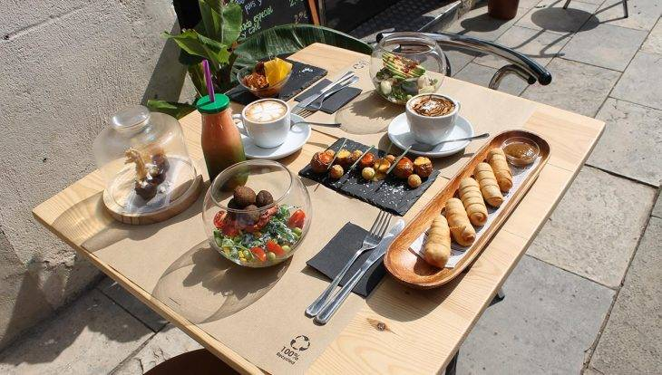 Carite: brunch and salads