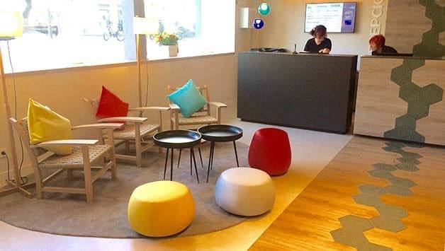 Ibis Styles Barcelona reception